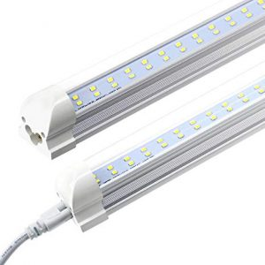 D2 Series Double Row LED Tube Light Integrated